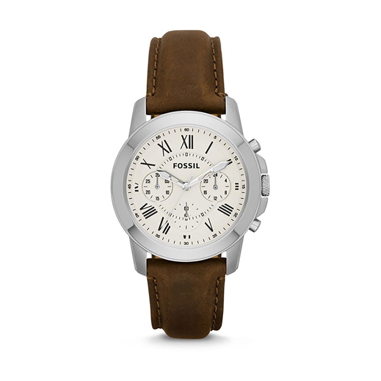 ساعت مچی عقربه ای مردانه فسیل مدل FS4839