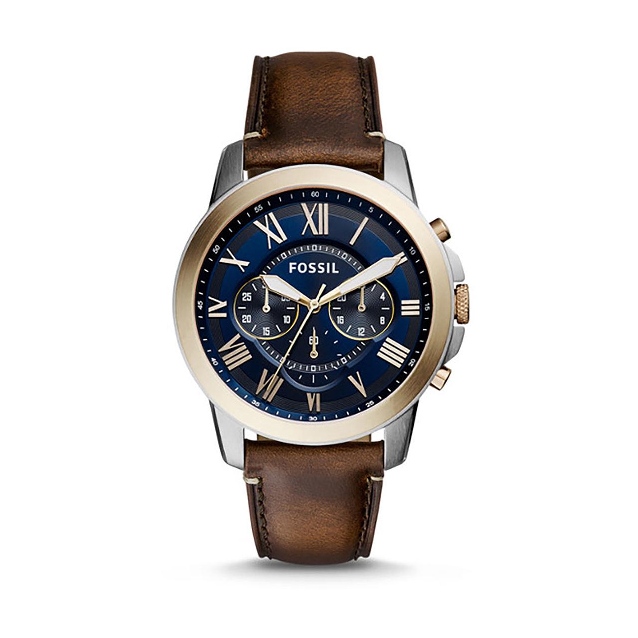 ساعت مچی عقربه ای مردانه فسیل مدل FS5150
