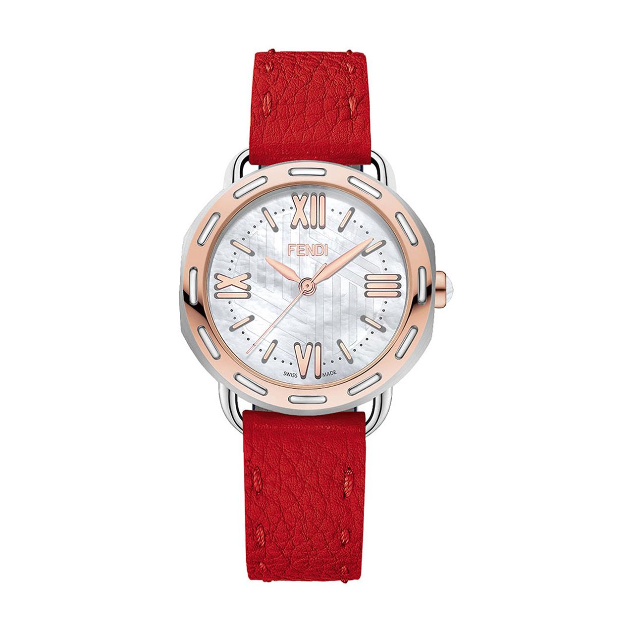 ساعت مچی عقربه ای زنانه فندی مدل F8302345H0