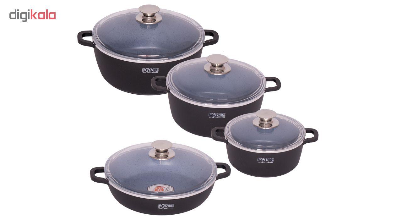 سرویس پخت و پز 8 پارچه فورته مدل Serina-G