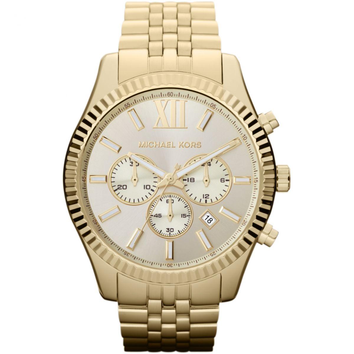 کد تخفیف                                      ساعت مچی عقربه ای مردانه مایکل کورس مدل MK8281