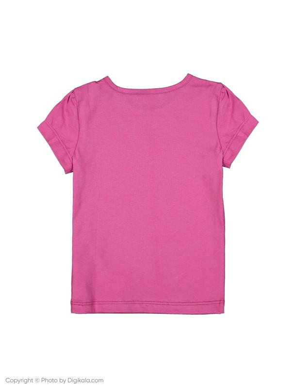 تی شرت دخترانه ال سی وایکیکی مدل 9SG627V4-GWX