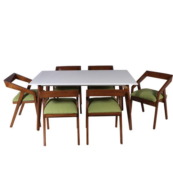 میز و صندلی ناهار خوری چوبکو کد 107