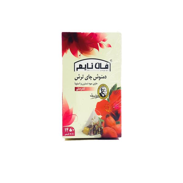 دمنوش چای ترش فان تایم بسته 14عددی