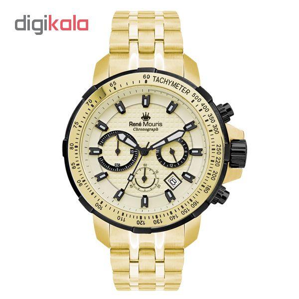 خرید ساعت مچی عقربه ای مردانه رنه موریس مدل Traveller 90105 RM8