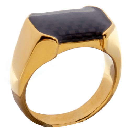 انگشتر مردانه مدل Golden Luxury
