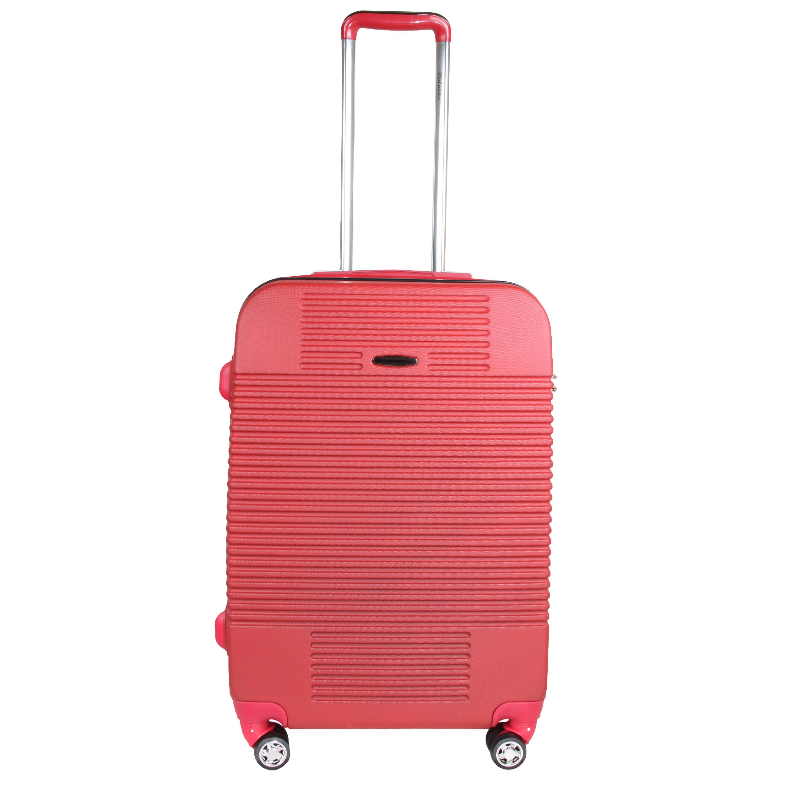 چمدان هارد رُزانا مدل 180102 سايز بزرگ