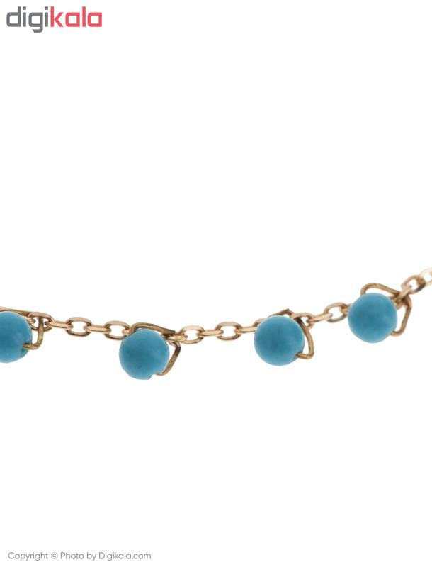 دستبند طلا 18 عیار دخترانه گرامی گالری مدل B603
