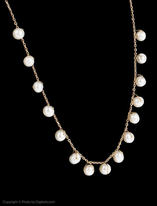 زنجیر طلا 18 عیار دخترانه گرامی گالری مدل N041