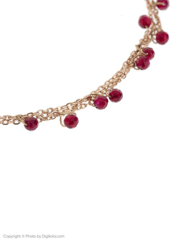 دستبند طلا 18 عیار دخترانه گرامی گالری مدل B604