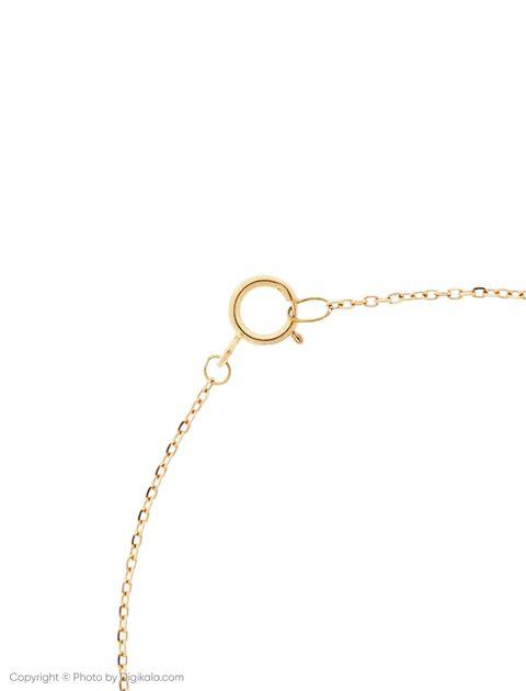 دستبند طلا 18 عیار دخترانه گرامی گالری مدل B604 -  - 3