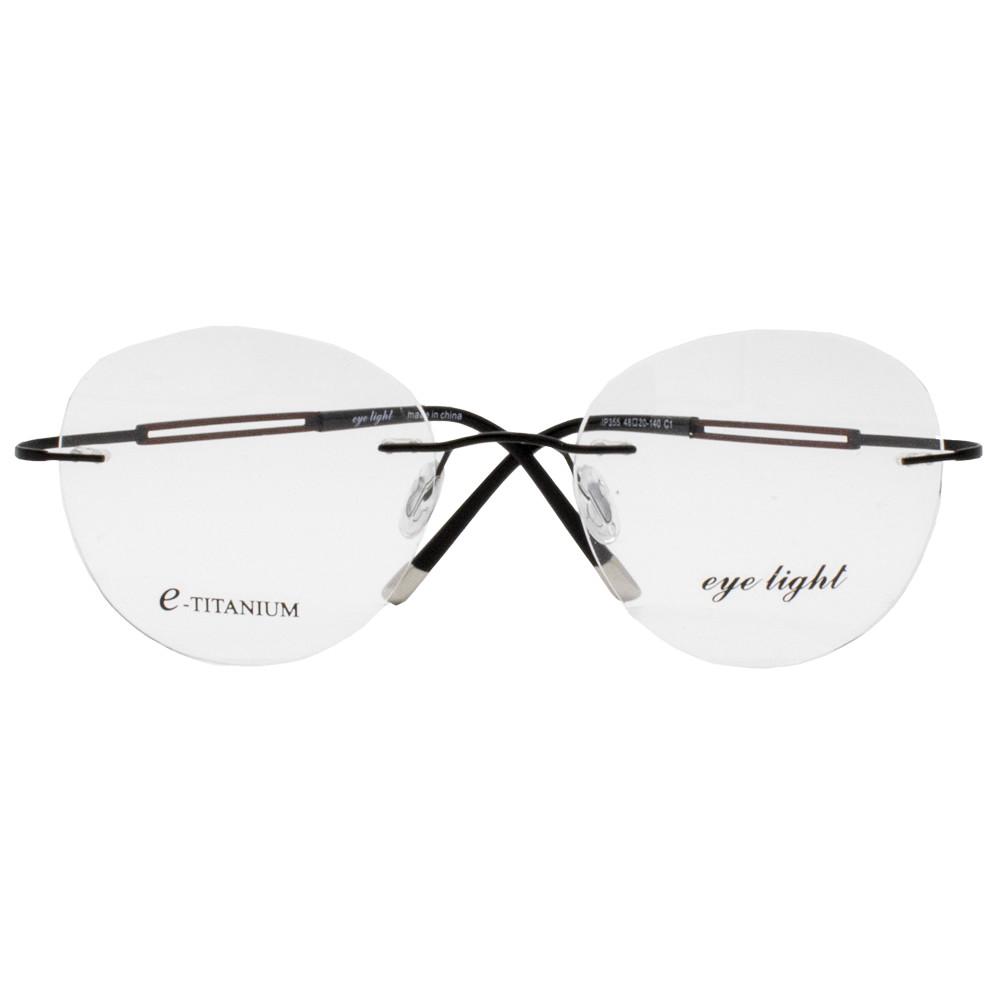 فریم عینک طبی  آی لایت مدل IP355 رنگ دودی