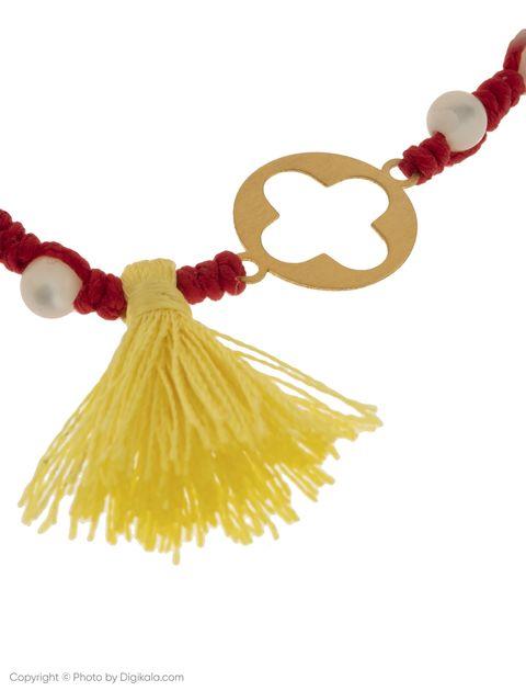 دستبند طلا 18 عیار دخترانه گرامی گالری مدل B610 -  - 2