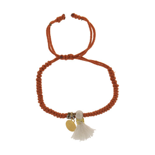 دستبند طلا 18 عیار دخترانه گرامی گالری مدل B640