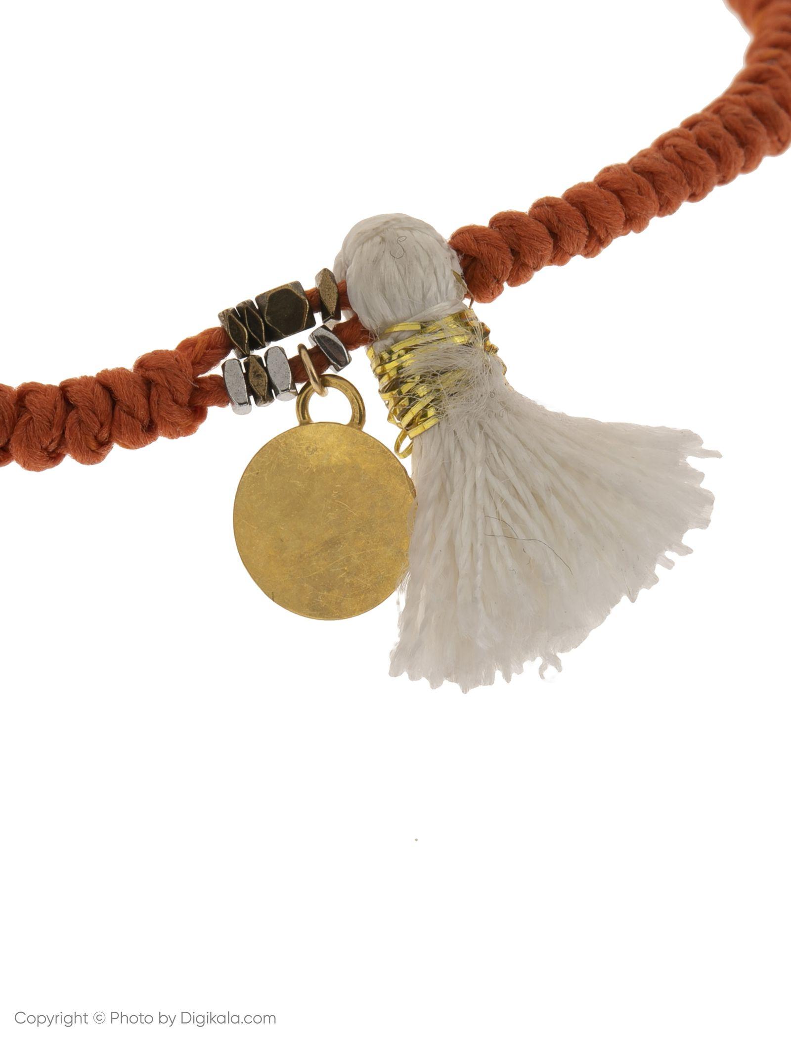 دستبند طلا 18 عیار دخترانه گرامی گالری مدل B640 -  - 2