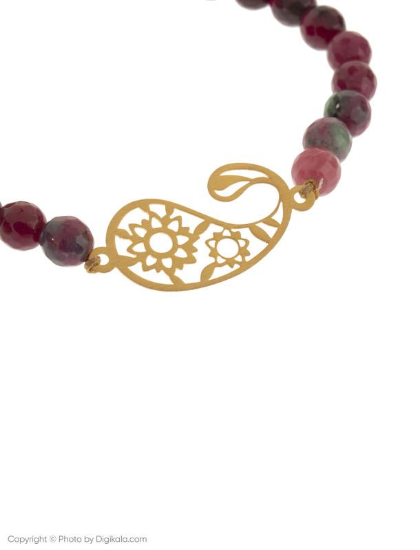 دستبند طلا 18 عیار زنانه گرامی گالری مدل B627