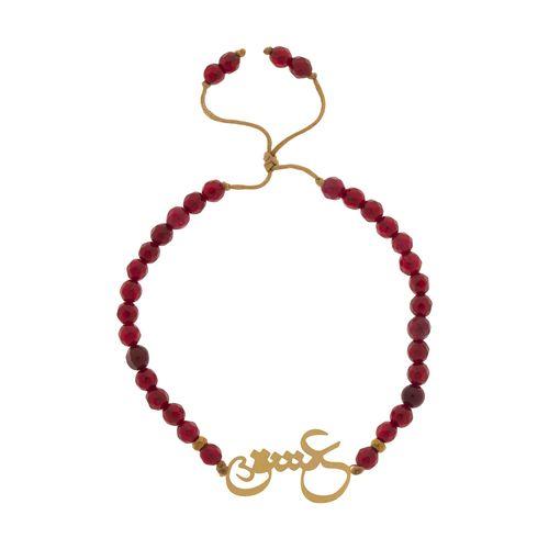 دستبند طلا 18 عیار زنانه گرامی گالری مدل B625