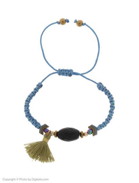 دستبند طلا 18 عیار دخترانه گرامی گالری مدل B651 -  - 1