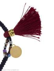 دستبند طلا 18 عیار دخترانه گرامی گالری مدل B615 -  - 2