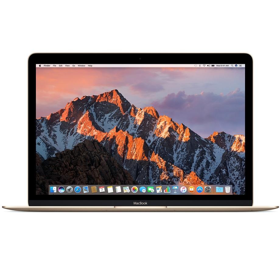لپ تاپ 12 اینچی اپل مدل MacBook MRQN2 2017