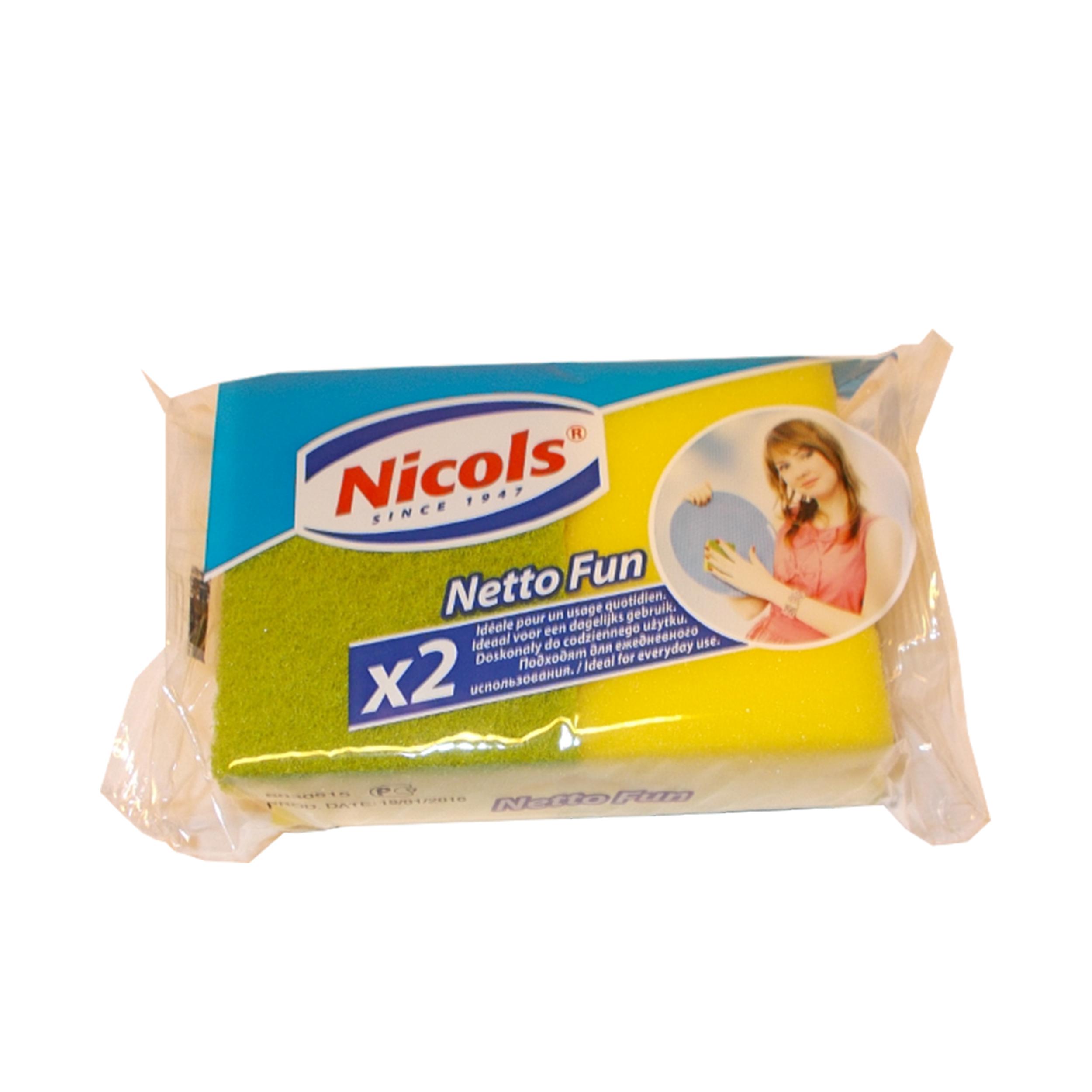 اسکاچ نیکولز مدل  netto fun بسته 2 عددی