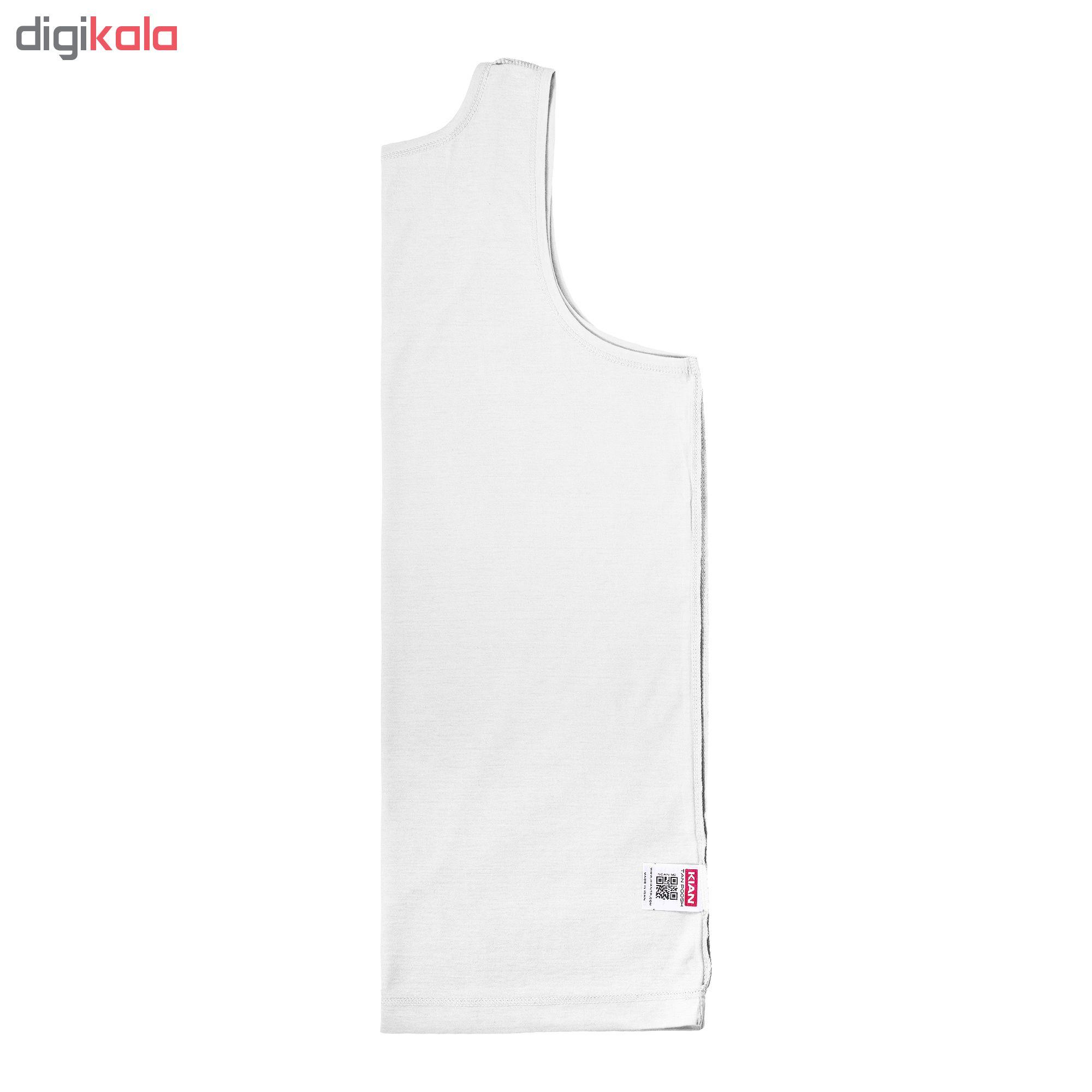 زیرپوش رکابی مردانه کیان تن پوش مدل A Shirt Classic W بسته ۳ عددی main 1 4