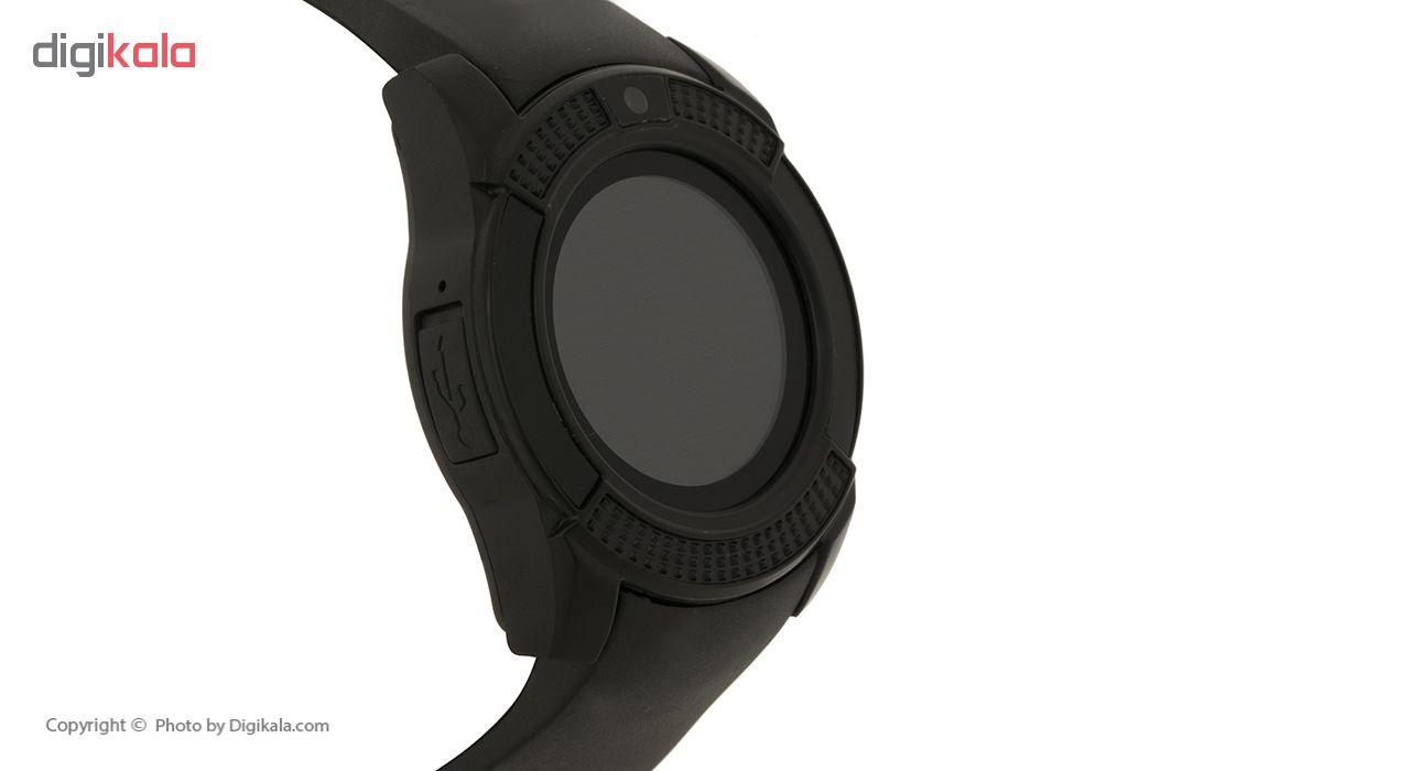 ساعت هوشمند مدل V8 به همراه کارت حافظه 16 گیگابایتی