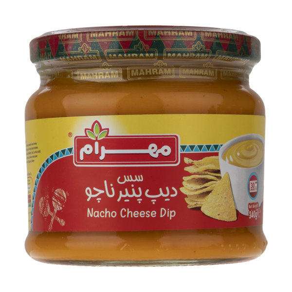 سس دیپ پنیر ناچو مهرام مقدار 340 گرم