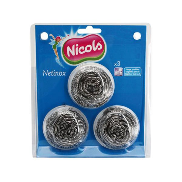 سیم ظرفشویی نیکولز مدل netionox مجموعه 3 عددی