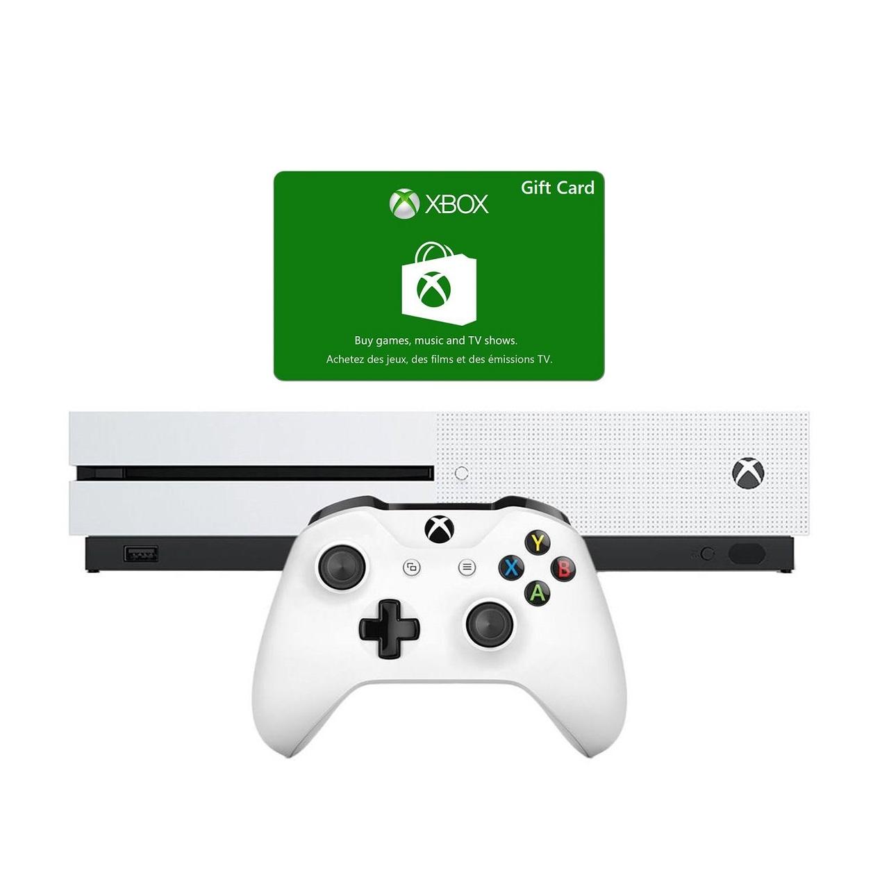 مجموعه کنسول بازی مایکروسافت مدل Xbox One ظرفیت 1 ترابایت | Microsoft Xbox One 1TB Bundle Game Console