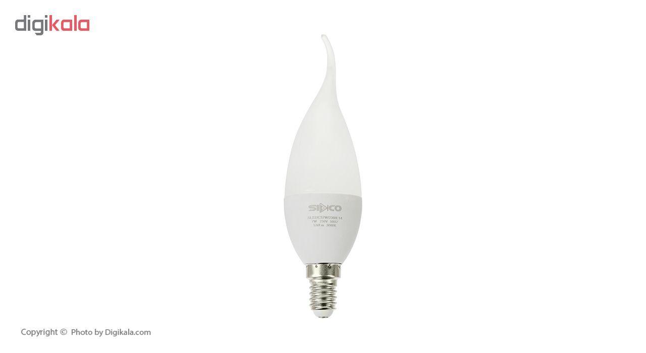 لامپ ال ای دی 7 وات سیدکو مدل C37W پایه E14 بسته 5 عددی main 1 1
