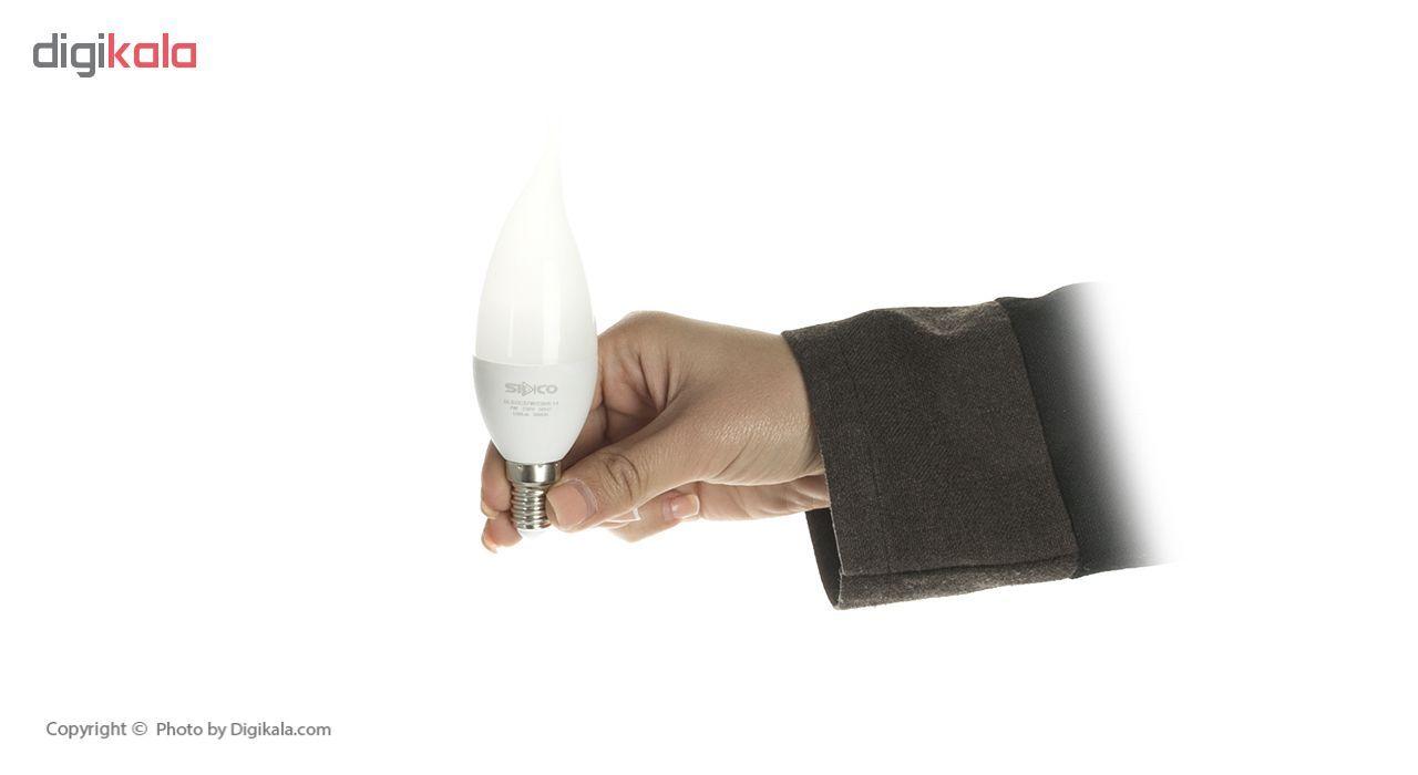 لامپ ال ای دی 7 وات سیدکو مدل C37W پایه E14 بسته 5 عددی main 1 2