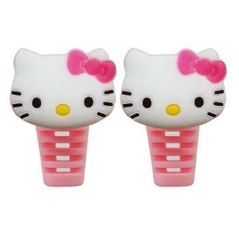 محافظ کابل شارژ طرح Hello Kitty کد B1 بسته دو عددی