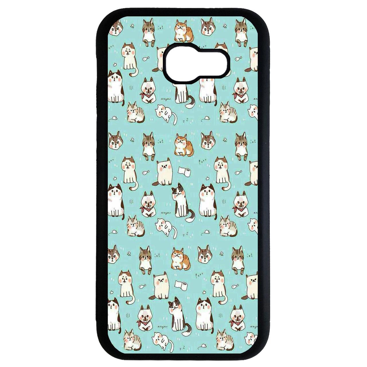 کاور طرح بچه گربه ها کد 8313 مناسب برای گوشی موبایل سامسونگ galaxy a7 2017