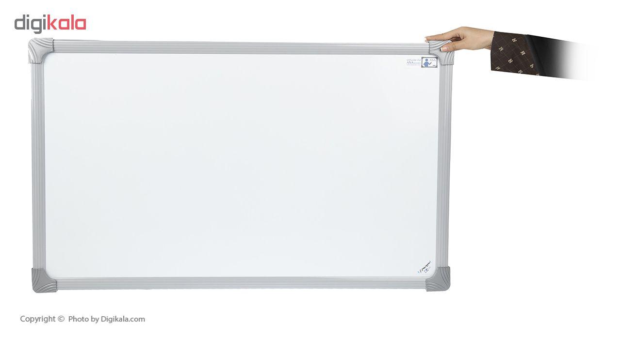 تخته وایت برد مغناطیسی آسا بُرد مدل آلفا سایز 150×100 سانتی متر