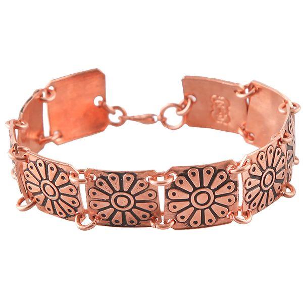 دستبند زنانه مسی گالری مثالین  کد 149217 سایز Free Size