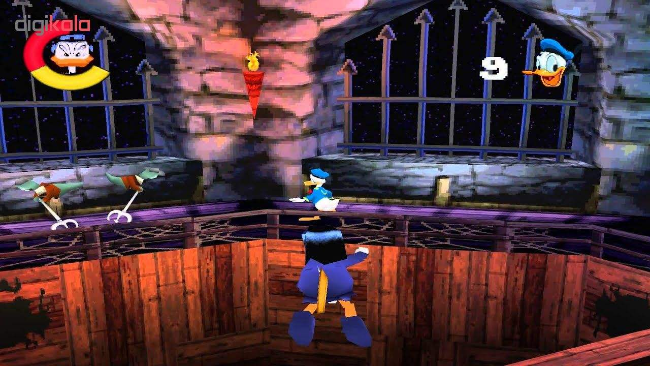 بازی Donald Duck Goin Quackers مخصوص ps1