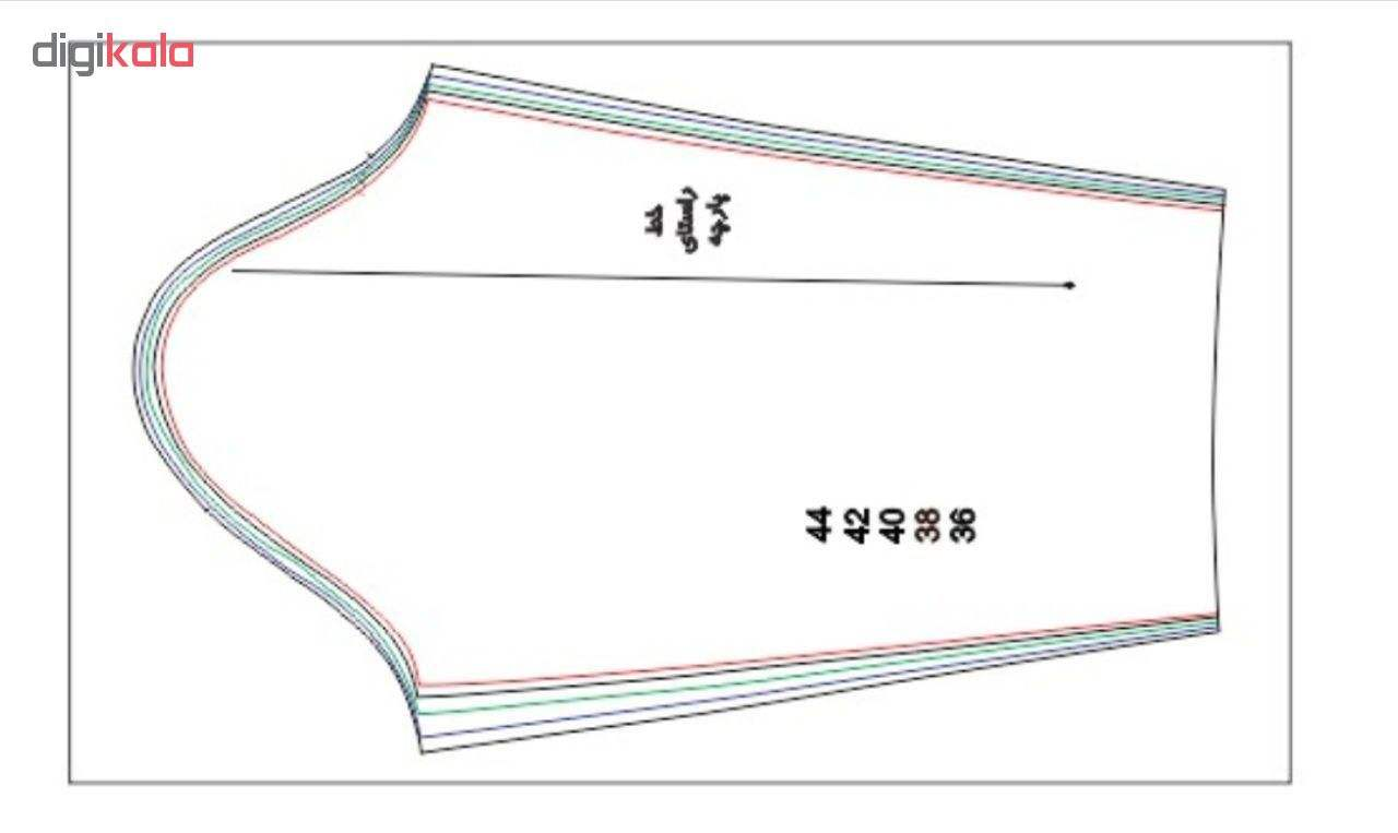 مجموعه 10 عددی الگو خیاطی بالاتنه و آستین زنانه متد abm سایز 36 تا 54 main 1 5