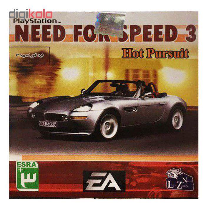 خرید اینترنتی بازی Need for Speed 3 مخصوص ps1 اورجینال