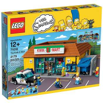 لگو سری simpsons مدل 71016 the Kwik-E-Mart Building Kit