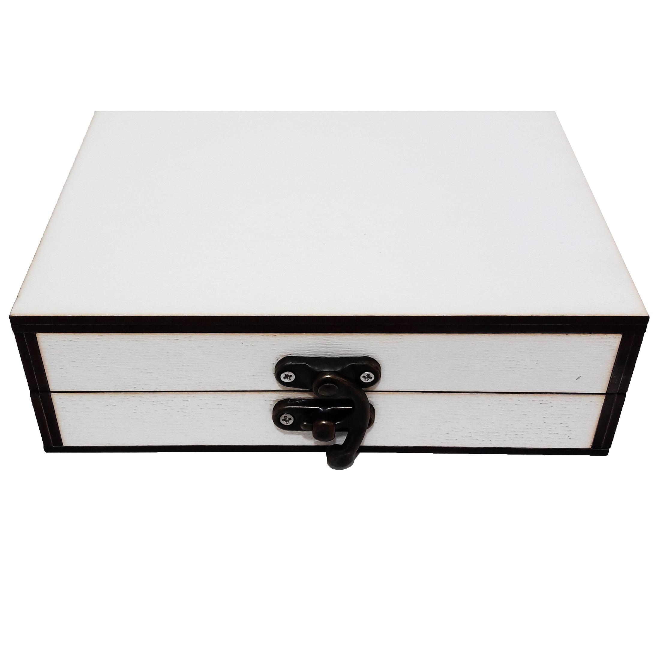 جعبه هدیه چوبی کادو آیهان باکس مدل 53