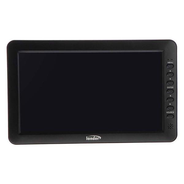 تلویزیون خودرو لندر مدل LD-1001 به همراه گیرنده دیجیتال USB پروویژن هدیه