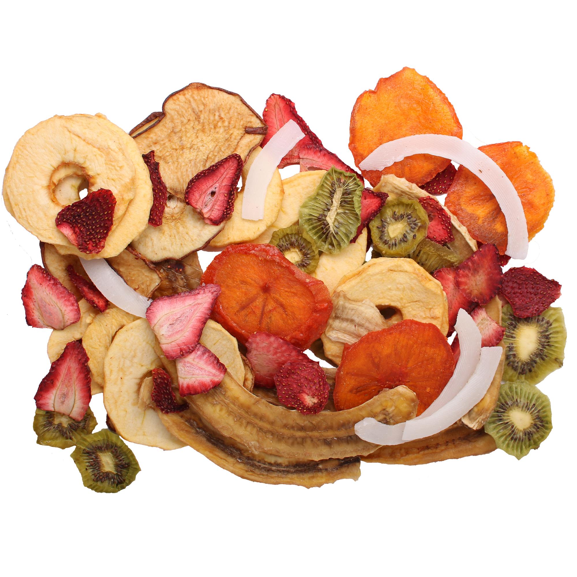 میوه خشک مخلوط فله مقدار 500 گرم