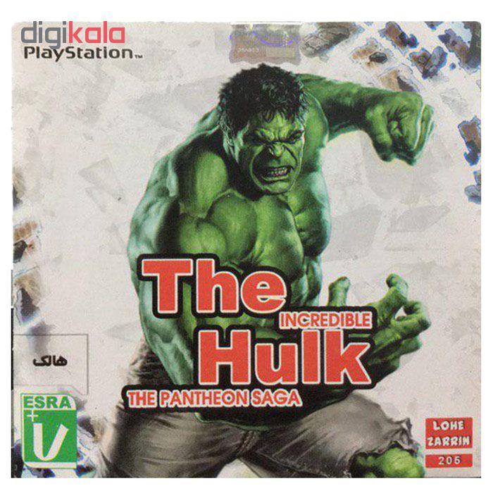 خرید اینترنتی بازی The Hulk مخصوص ps1 اورجینال