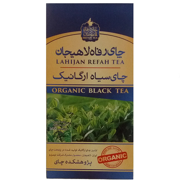 چای سیاه رفاه لاهیجان مقدار ۱۸۰ گرم