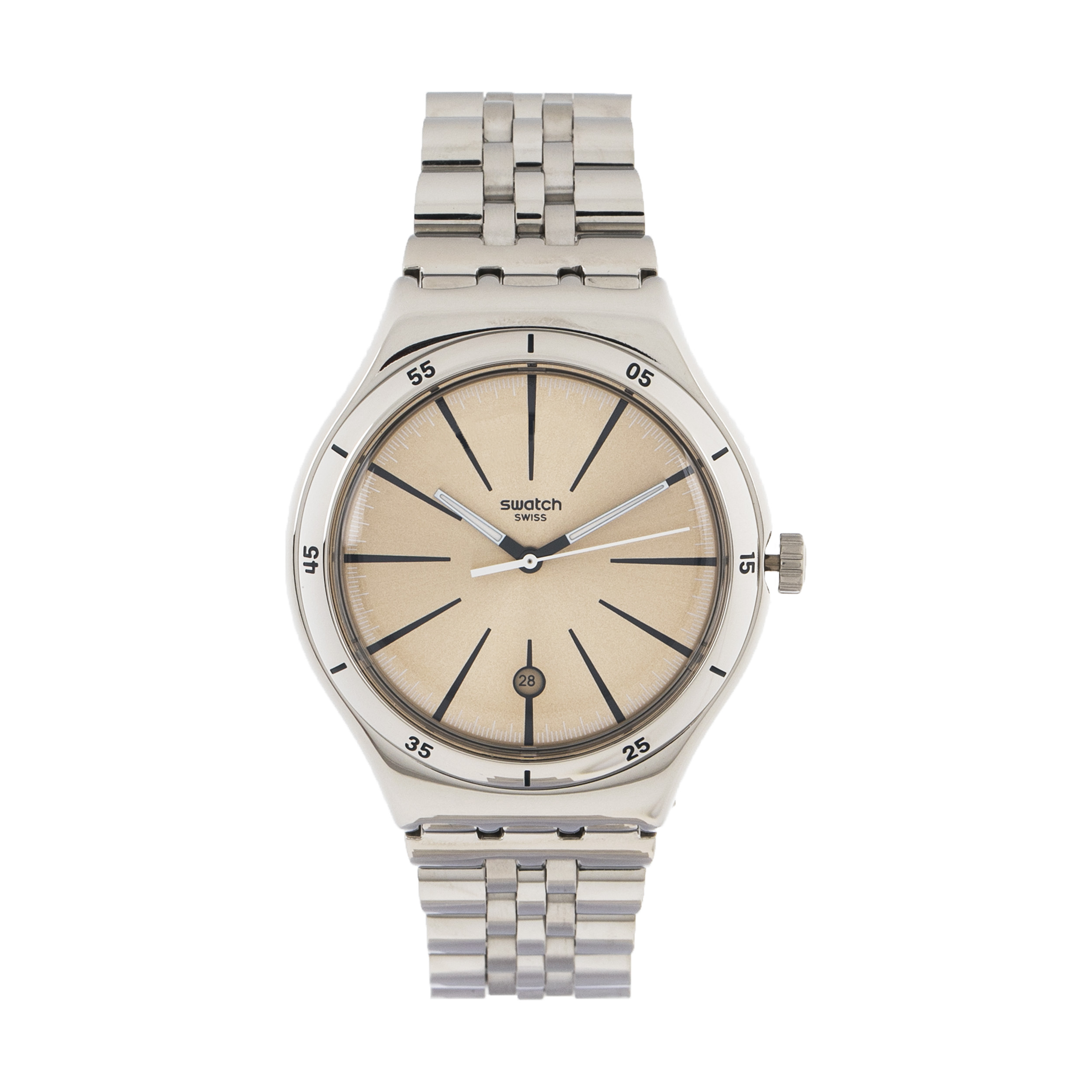 ساعت مچی عقربه ای مردانه سواچ مدل YWS408G-1
