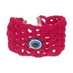 دستبند زنانه طرح چشم نظر کد 8 تک سایز thumb