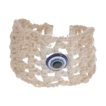 دستبند زنانه طرح چشم نظر کد 11 تک سایز