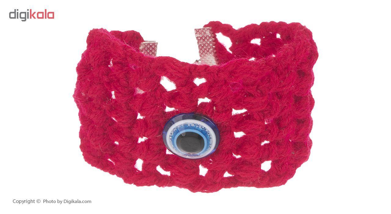 دستبند زنانه طرح چشم نظر کد 8 تک سایز main 1 1