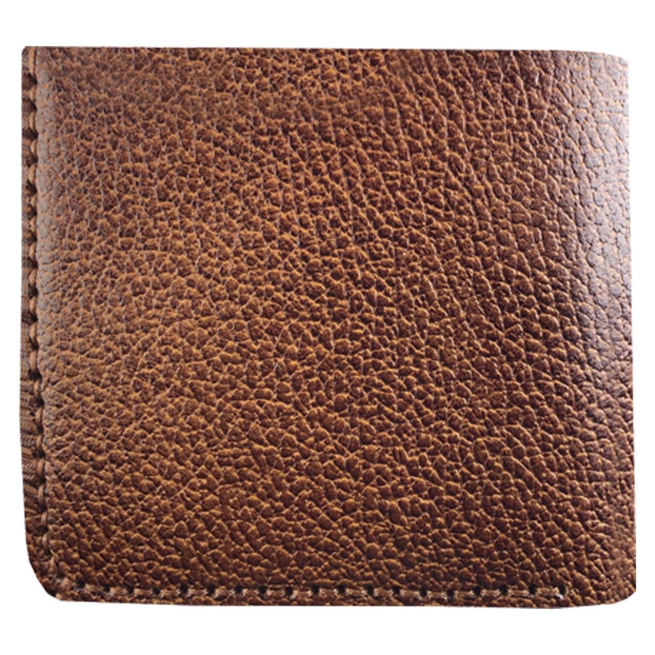 کیف پول چرم طبیعی ای دی گالری مدل P1-BRM